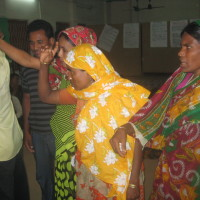 Participants of preparatory workshop on drama