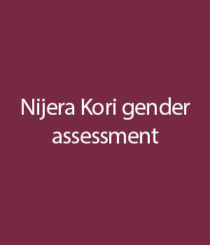 Nijera-Kori-gender-assessment